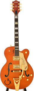 Musical Instruments:Electric Guitars, 1994 Gretsch Nashville Orange Semi-Hollow Body Electric Guitar,Serial # 943120W-740....