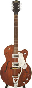 Musical Instruments:Electric Guitars, 1960s Gretsch Tennessean Walnut Semi-Hollow Body Electric Guitar....