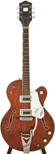 Musical Instruments:Electric Guitars, 1967 Gretsch Tennessean Burgundy Semi-Hollow Body Electric Guitar,Serial # 127363....