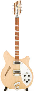 Musical Instruments:Electric Guitars, 2010 Rickenbacker 360 Mapleglo Semi-Hollow Body Electric Guitar, Serial # 10 48396....
