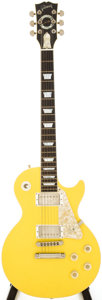 Musical Instruments:Electric Guitars, 1990s Gibson Les Paul Catalina Yellow Solid Body Electric Guitar,Serial # CS 10021....
