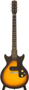 Musical Instruments:Electric Guitars, 1964 Gibson Melody Maker Sunburst Solid Body Electric Guitar,Serial # 93483...