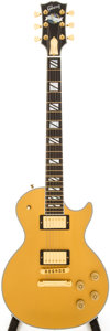 Musical Instruments:Electric Guitars, 2007 Gibson Les Paul Supreme Gold Top Solid Body Electric Guitar,Serial # 014970390....