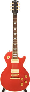 Musical Instruments:Electric Guitars, 2000 Gibson Les Paul Standard Red Sparkle Solid Body Electric Guitar, Serial # 00680441....