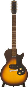 Musical Instruments:Electric Guitars, 1960 Gibson Melody Maker Sunburst Solid Body Electric Guitar,Serial # 011590....