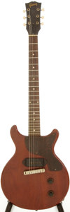 Musical Instruments:Electric Guitars, 1959 Gibson Les Paul Junior Cherry Solid Body Electric Guitar, Serial # 925312....