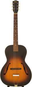 Musical Instruments:Acoustic Guitars, 1930s Gibson L-50 Sunburst Archtop Acoustic Guitar....