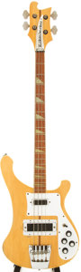 Musical Instruments:Bass Guitars, 1981 Rickenbacker 4001 Mapleglo Electric Bass Guitar, Serial # UD1398....