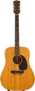 Musical Instruments:Acoustic Guitars, 1969 Gibson J-50 Natural Acoustic Guitar, Serial # 830940....