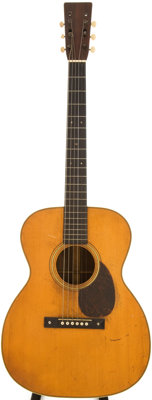 1930 Martin OM-28 Natural Acoustic Guitar, Serial # 41937