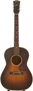 Musical Instruments:Acoustic Guitars, Mid 1940s Gibson LG-2 Sunburst Acoustic Guitar....