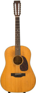 Musical Instruments:Acoustic Guitars, 1967 Martin D-12-20 Natural 12-String Acoustic Guitar, Serial #218240....