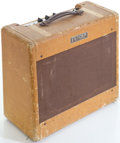 Musical Instruments:Amplifiers, PA, & Effects, 1953 Fender Deluxe Tweed Guitar Amplifier, Serial # 1720...