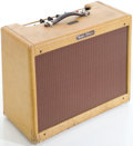 Musical Instruments:Amplifiers, PA, & Effects, 1958 Fender Vibrolux Tweed Guitar Amplifier, Serial # F01074....