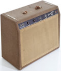 Musical Instruments:Amplifiers, PA, & Effects, 1962 Fender Princeton Brown Guitar Amplifier, Serial # P05224. ...