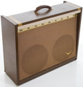 Musical Instruments:Amplifiers, PA, & Effects, 1968 Magnatone Model 260 Brown Guitar Amplifier, Serial # 8464....