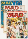 Magazines:Mad, Mad Magazine Group (EC, 1957-77).... (Total: 7 Comic Books)