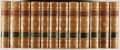 Books:Fine Bindings & Library Sets, William Thackeray. The Works of William Makepeace Thackeray. Leather binding. Very good. Unless otherwise noted,... (Total: 12 Items)