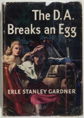 Books:Mystery & Detective Fiction, Erle Stanley Gardner. The D.A. Breaks an Egg. Very good. Unless otherwise noted, all volumes are first edition, ...