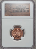 Lincoln Cents, 2009 1C Formative, First Day of Issue MS65 Red NGC. PCGS Population(5803/1742). (#407835)...