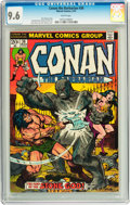 Bronze Age (1970-1979):Miscellaneous, Conan the Barbarian #36 (Marvel, 1974) CGC NM+ 9.6 White pages....