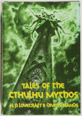 Books:Horror & Supernatural, H. P. Lovecraft. Tales of the Cthulhu Mythos. Arkham House, 1990. Fine....