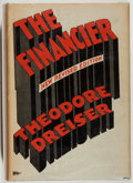 Books:Fiction, Theodore Dreiser. The Financier. Boni & Liveright, 1927.Revised edition. Very good....