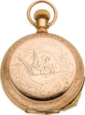 Timepieces:Pocket (pre 1900) , Swiss Minute Repeater Later Gold Filled Case, circa 1895. ...