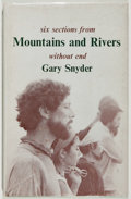 Books:Fiction, Gary Snyder. SIGNED. Six Sections from Mountains and RiversWithout End. Fulcrum Press, 1967. Signed by the au...