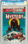 Bronze Age (1970-1979):Horror, House of Mystery #243 (DC, 1976) CGC NM/MT 9.8 White pages....