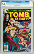 Bronze Age (1970-1979):Horror, Tomb of Darkness #21 (Marvel, 1976) CGC NM+ 9.6 White pages....