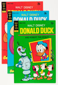 Bronze Age (1970-1979):Cartoon Character, Donald Duck Group (Gold Key, 1973-89) Condition: Average VF+....(Total: 59 Comic Books)