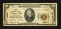 National Bank Notes:Pennsylvania, Wilkes-Barre, PA - $20 1929 Ty. 2 Miners NB Ch. # 13852. ...
