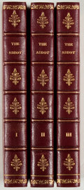Books:Literature Pre-1900, Sir Walter Scott. The Abbot. Longman, et al., 1820. Customfull leather. Fine.... (Total: 3 Items)