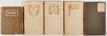 Books:Fine Press & Book Arts, [Thomas B. Moser Press]. [Oscar Wilde, Andrew Lang, W. B. Yeats, etal]. Lot of Five 32mo. Volumes of Poetry. First Moser pr... (Total:5 Items)