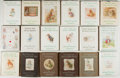 Books:Children's Books, Beatrix Potter. Lot of 18 Peter Rabbit Books. Twelvemos. Latereditions. Several in dust jacket, one in Swedish. Generally f...(Total: 18 Items)