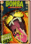 Silver Age (1956-1969):Adventure, Bomba the Jungle Boy #1-7 Bound Volume (DC, 1967-68)....