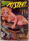 Pulps:Horror, Spicy Mystery June 1935 (Culture, 1935) Condition: FR/GD....