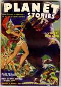 Pulps:Science Fiction, Planet Stories V1#11 (Fiction House, 1942) Condition: VG....