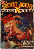 Pulps:Hero, Secret Agent X V12#4 (Ace, 1937) Condition: GD....