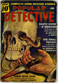Pulps:Detective, Popular Detective V17#1 (Better Publications, 1939) Condition: VG-....