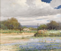 Texas:Early Texas Art - Impressionists, ROBERT WOOD (1889-1979). Boerne Texas. Oil on canvas. 25 x30 inches (63.5 x 76.2 cm). Signed lower left. Titled verso. ...