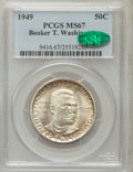 Commemorative Silver, 1949-S 50C Booker T. Washington MS67 PCGS. CAC....