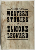 Books:Fiction, Elmore Leonard. SIGNED. The Complete Western Stories of ElmoreLeonard. Fine. Unless otherwise noted, all volumes ar...
