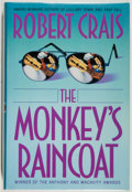 Books:Mystery & Detective Fiction, Robert Crais. SIGNED. The Monkey's Raincoat. Fine. Unless otherwise noted, all volumes are first edition, first ...