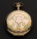 Timepieces:Pocket (post 1900), Illinois 17 Jewel Hunter's Case Pocket Watch. ...