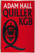 Books:Mystery & Detective Fiction, Adam Hall [pseudonym of Elleston Trevor]. INSCRIBED. QuillerKGB. Fine. Unless otherwise noted, all volumes are ...