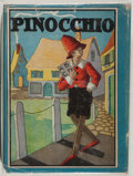 Books:Children's Books, [Alice Carsey, illustrator]. C. Collodi. Pinocchio. Verygood. Unless otherwise noted, all volumes are first edition...