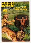 Golden Age (1938-1955):Classics Illustrated, Classics Giveaways: Shelter Through the Ages #1 (Gilberton, 1951) Condition: VG....