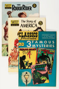 Golden Age (1938-1955):Classics Illustrated, Classics Illustrated Group (Gilberton, 1940s-50s) Condition:Average FN.... (Total: 6 Items)